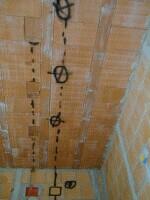 illuminazione,installazione,soffitti,pareti,in muratura
